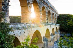 Pont du Gard Soleil