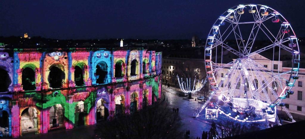 Illuminations Monumentales de la Ville de Nîmes
